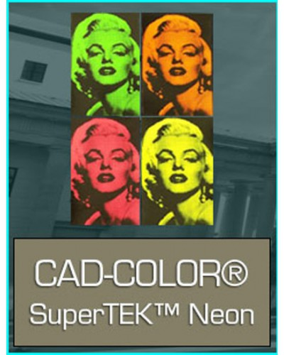 Rollo Cad-Color SuperTEK Neon 500mmX25m