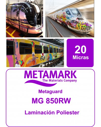 Metaguard MG MG 850RW Poliester brillo (Antigraffiti)
