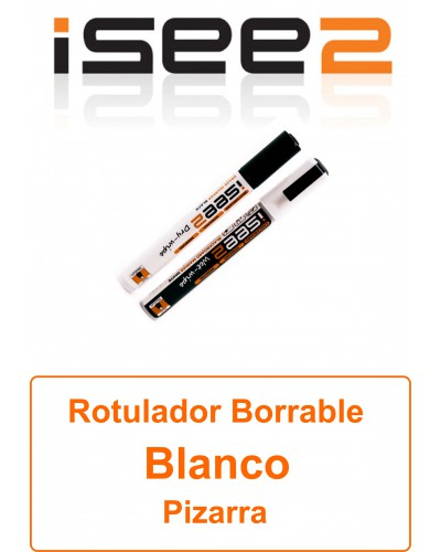 Rotulador Borrable ISee2 Blsckboard maker Blanco
